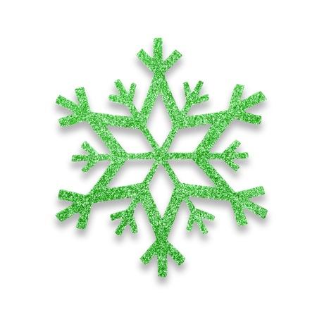 snow flake Christmas tree topper Stock Photo - 17066269