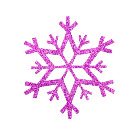 snow flake Christmas tree topper Stock Photo - 17066260