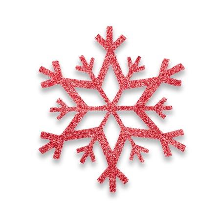 snow flake Christmas tree topper Stock Photo - 17066279