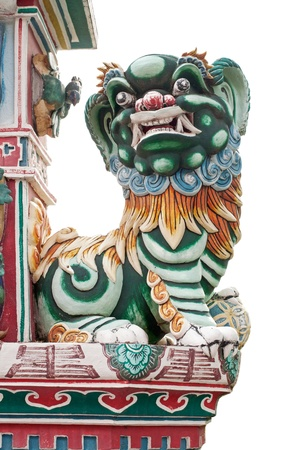 Chinese Lion Statue,Thailand Stock Photo - 17067326