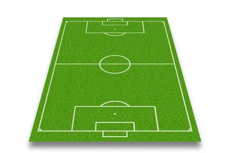 フィールド サッカーまたはフットボール競技場