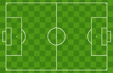 cancha de futbol: campo de fútbol o campo de fútbol