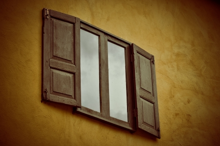 Vintage window photo