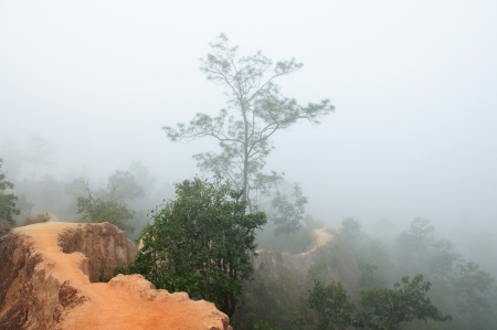 zion: Pai Canyon, Thailand Stock Photo
