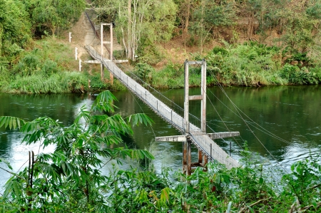 Rope bridge photo