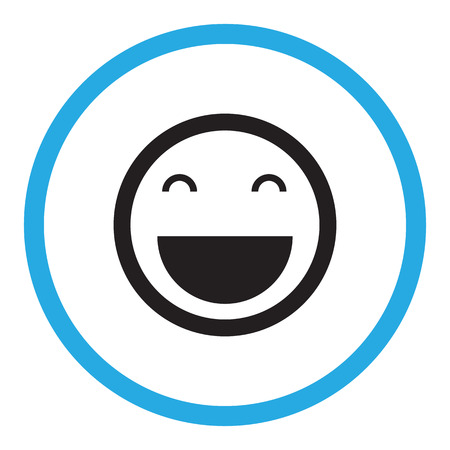 Lächeln icon Standard-Bild - 47415333