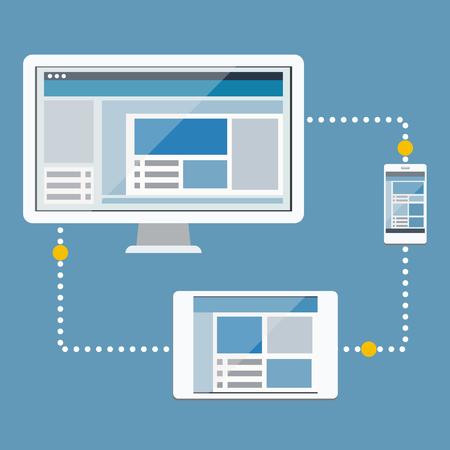 data synchronization: Big Data,Synchronization of computer and mobile .