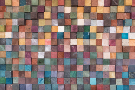 vintage colorful wood wall texture background