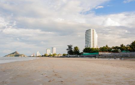 hin hua: Hua Hin beach, Thailand