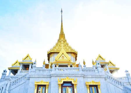 godhead: Wat Traimit Buddhist Temple in Bangkok Thailand