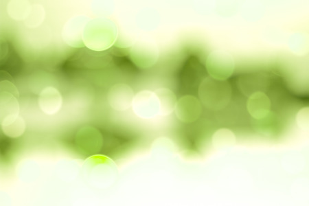 Green filtered bokeh abstract background. photo