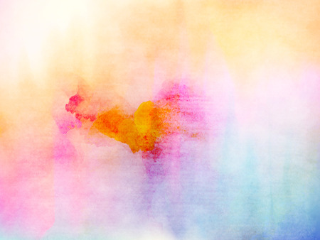 white textured paper: Abstract colorful water color for background.