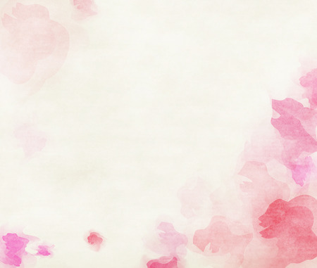 pink wedding: Abstract colorful water color background. Stock Photo