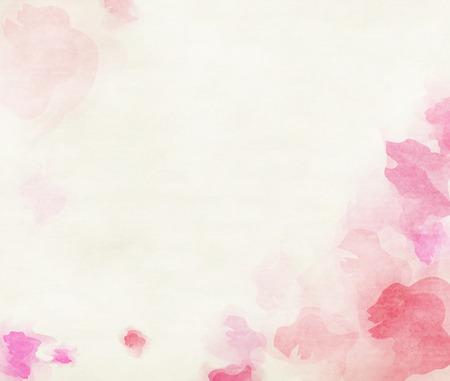 flower patterns: Colorido color de fondo abstracto del agua.
