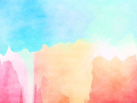 Abstract colorful water color background. Banco de Imagens