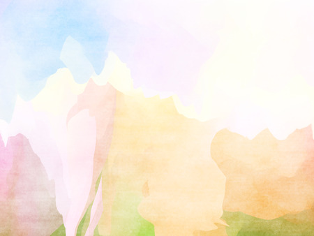 overflowing: Abstract colorful water color background. Stock Photo