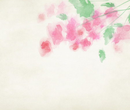 Abstract colorful water color background. Stock Photo