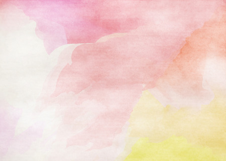 vintage children: Colorful Watercolor. Grunge texture background. Soft background. Stock Photo