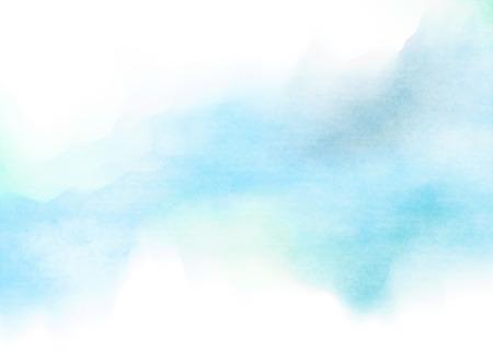 cielo azul: Acuarela colorida. Grunge textura de fondo. Fondo suave. Foto de archivo