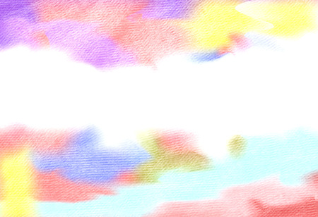 overflowing: Abstract colorful water color for background