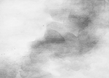 grey background texture: Grey tones watercolor Grunge texture background. Stock Photo