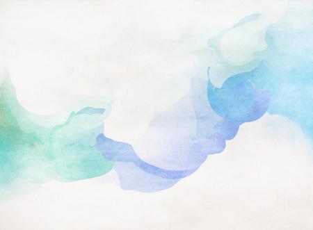 water: Colorido de la acuarela de Grunge textura de fondo