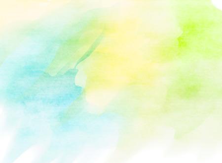 Kleurrijke Waterverf. Grunge textuur achtergrond. Zachte achtergrond. Stockfoto