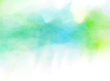 fondos azules: Acuarela colorida. Grunge textura de fondo. Fondo suave. Foto de archivo