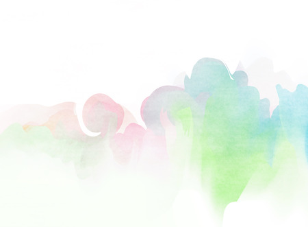 Colorful Watercolor. Grunge texture background. Soft background. Stock Photo