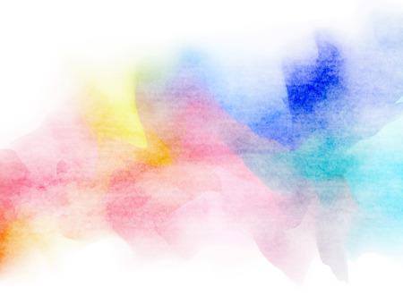 Colorful Watercolor. Grunge texture background. Soft background. Foto de archivo