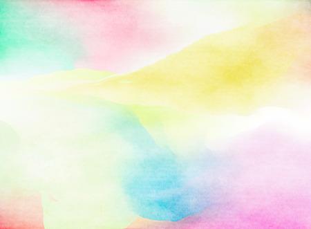 Colorful Watercolor. Grunge texture background. Soft background. Standard-Bild