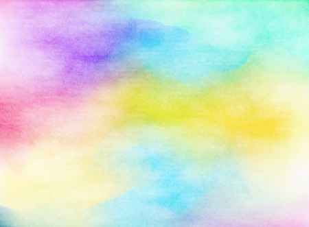 Colorful Watercolor. Grunge texture background. Soft background. Banque d'images