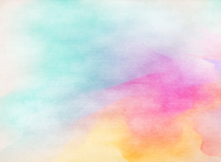 water paint: Colorful Watercolor. Grunge texture