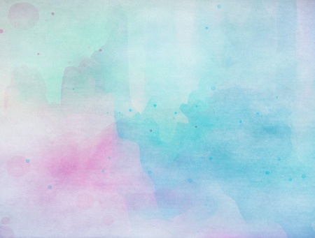 overflowing: Colorful Watercolor. Grunge texture