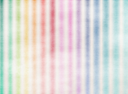rainbow background: Beautiful rainbow watercolor stripes.