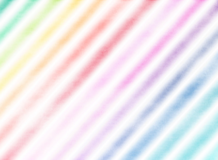 rainbow abstract: Beautiful rainbow watercolor stripes.