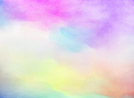 Abstract colorful watercolor  Foto de archivo