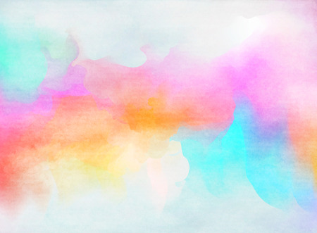 colorful: Abstract colorful watercolor for background.