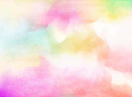 soft background: Abstract colorful watercolor for background.
