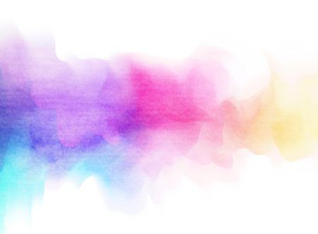 Abstrakte bunte Aquarell für Hintergrund. Standard-Bild - 40839260