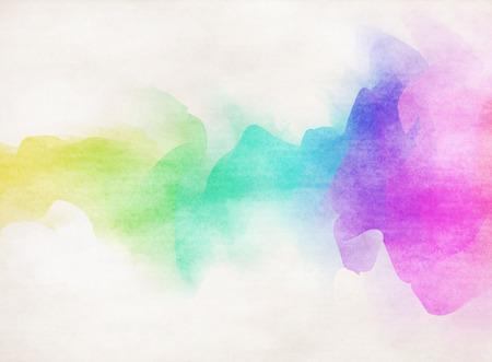 Abstracte kleurrijke aquarel achtergrond. Stockfoto