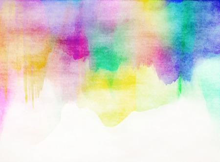 Abstracte kleurrijke water kleur voor de achtergrond.