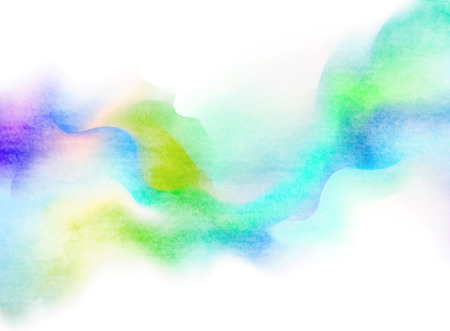 Abstract colorful water color for background.