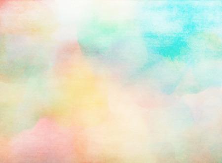 Abstracte kleurrijke aquarel voor achtergrond.