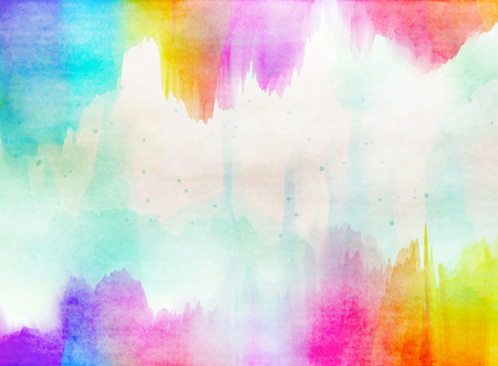 Abstract colorful watercolor for background. Banco de Imagens - 41463607