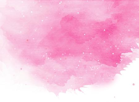 Abstrakte bunte Aquarell für Hintergrund. Standard-Bild - 42578493