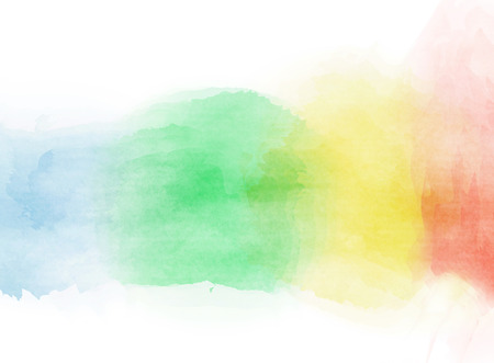 rainbow colors: Abstract colorful watercolor for background.