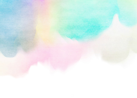 watercolor paper: Abstract colorful watercolor for background.