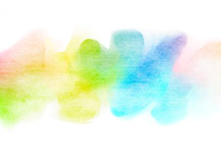 Abstrakte bunte Aquarell für Hintergrund. Standard-Bild - 42578595