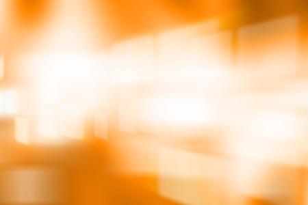tone: Blurred light in yellow tone.